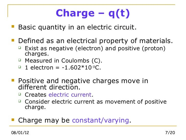 Electric circuits-chapter-1 Basic Concept