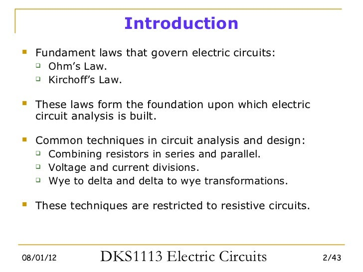 Electric circuits-chapter-2 Basic Laws