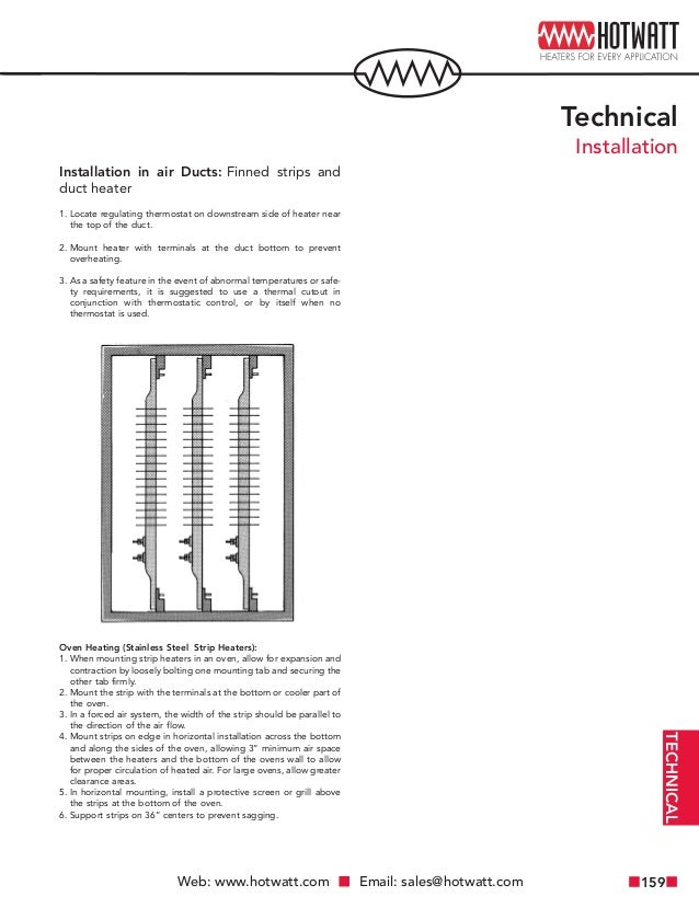 Electric Heating Element Technical Reference Guide