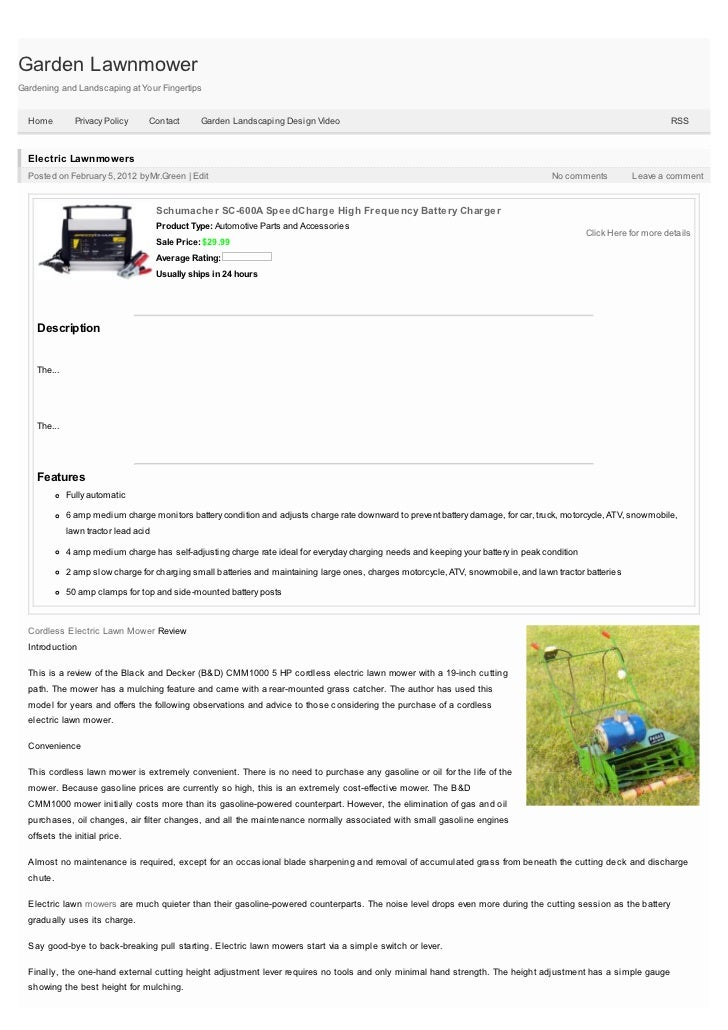 Garden LawnmowerGardening and Landscaping at Your Fingertips  Home         Privacy Policy     Contact        Garden Landsc...