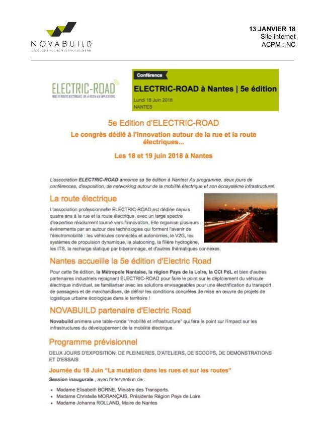 foto de Electric road - revue de presse