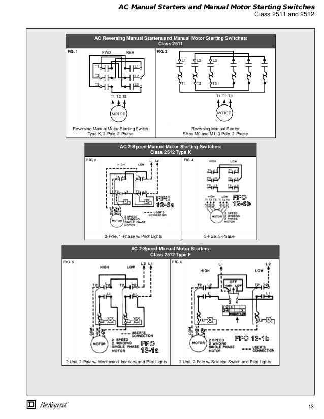 Unique Motor Starter Switch Wiring Illustration - Schematic Diagram ...