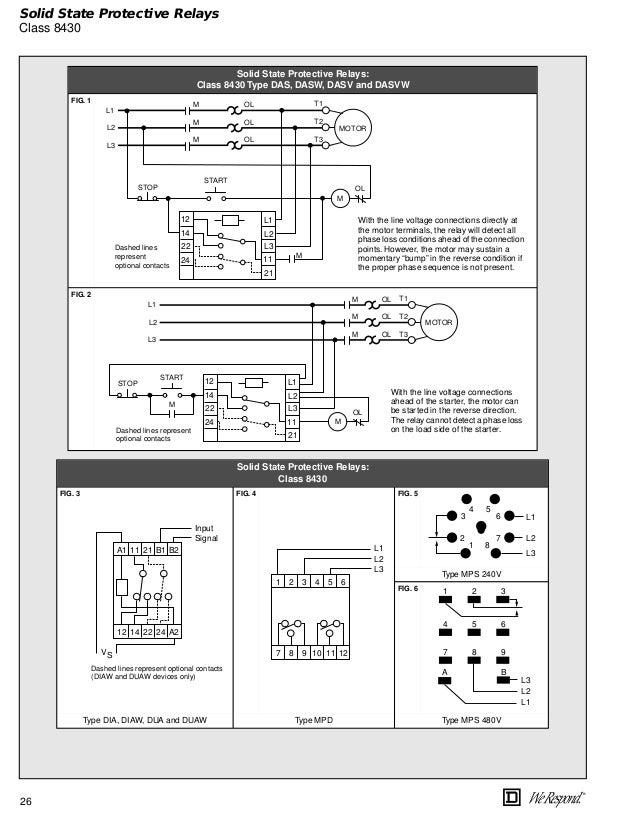 Square D 8536 Wiring Diagram Wiring Diagram Blogs
