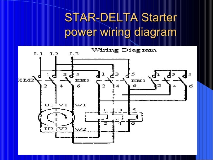 Electrical basics star delta starter power wiring diagram asfbconference2016 Choice Image