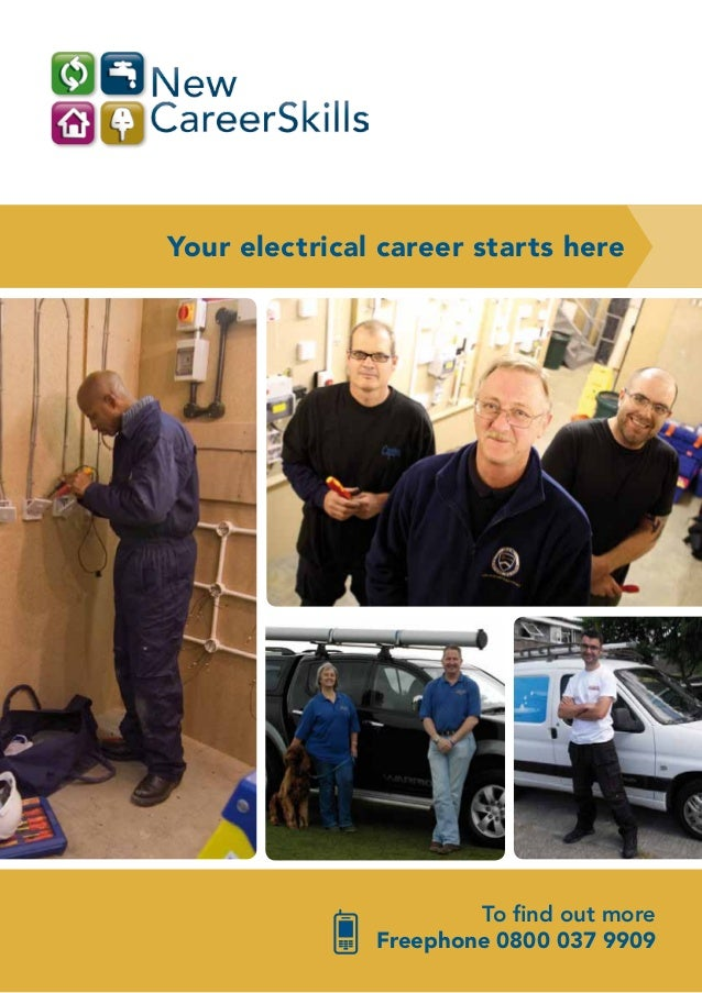 Your electrical career starts here                       To find out more               Freephone 0800 037 9909