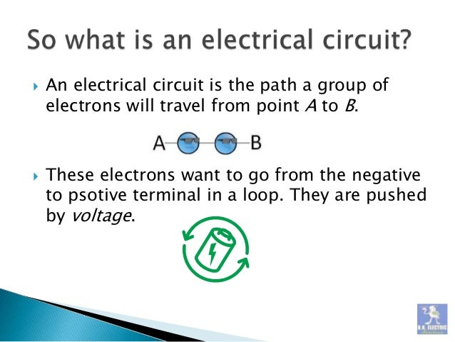 Electrical Circuits - The Basics