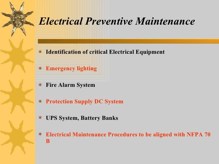 Electrical Risk Management