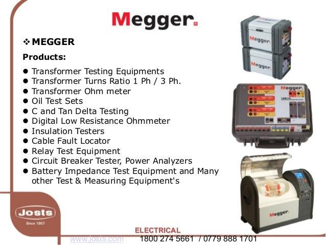 electrical test and measurement megger. Black Bedroom Furniture Sets. Home Design Ideas