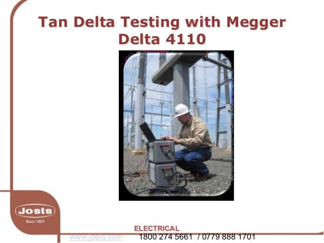Electrical test and measurement megger