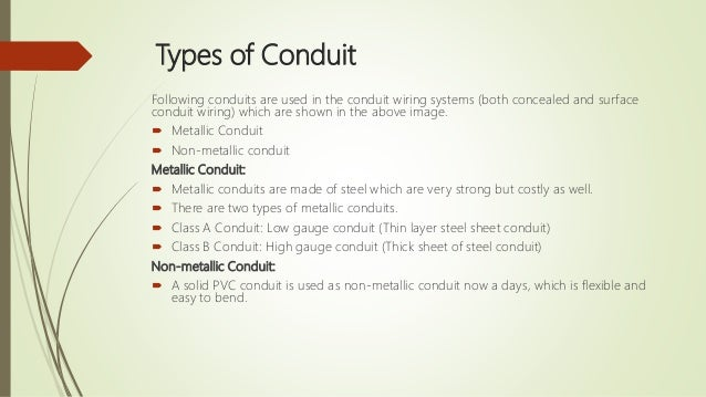 electrical wiring system and estimation rh slideshare net Electrical Cable Conduit Flexible Wire Conduit