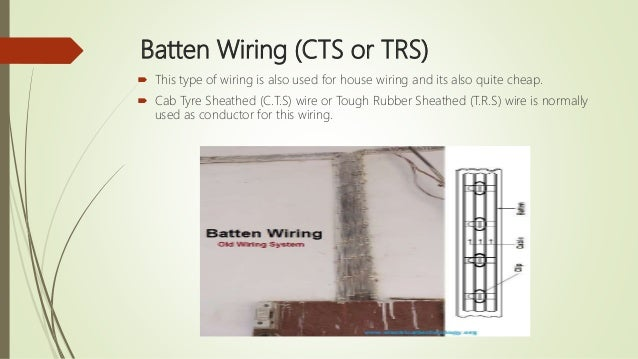 electrical wiring system and estimation rh slideshare net Wiring a Porcelain Cleat Ford Model A Wiring