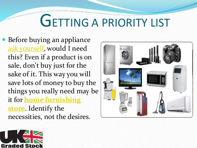 Electrical Appliances Online at UK Graded Stock
