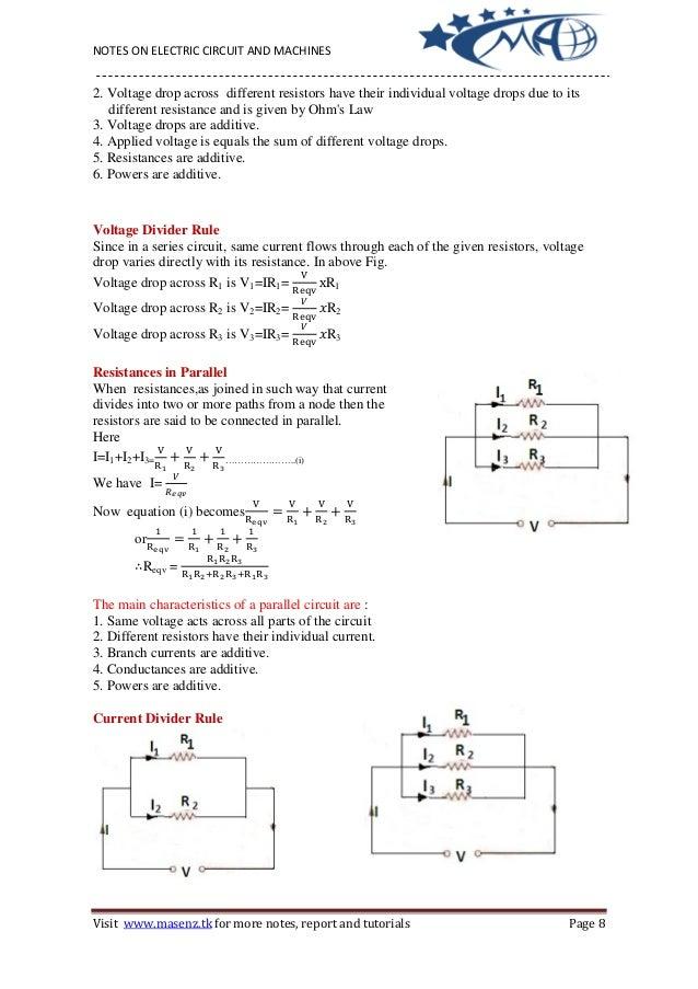electrical ciircuit\u0026mechine