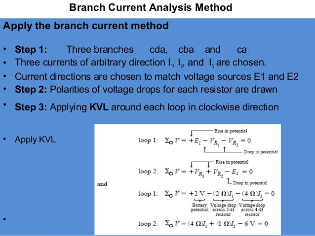 An analysis of current methods of