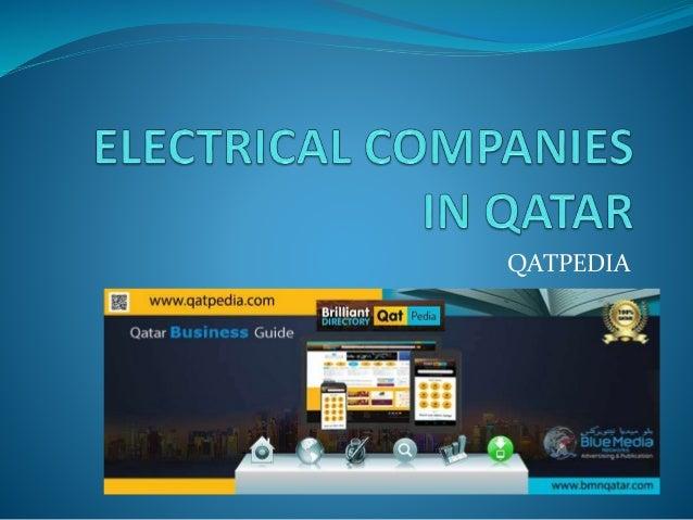Electrical companies in qatar