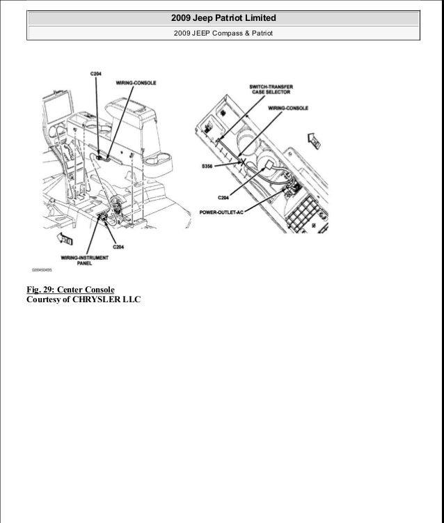 2009 jeep patriot relay box diagram