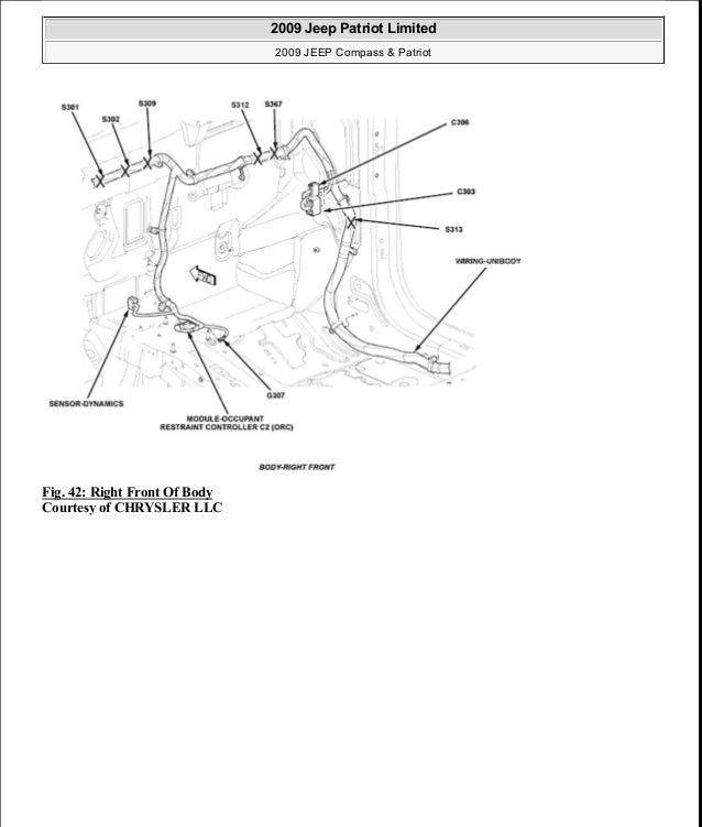 manual reparacion jeep pass patriot limited 2007 2009 electrical 2008 Jeep Grand Cherokee Wiring Diagram 48