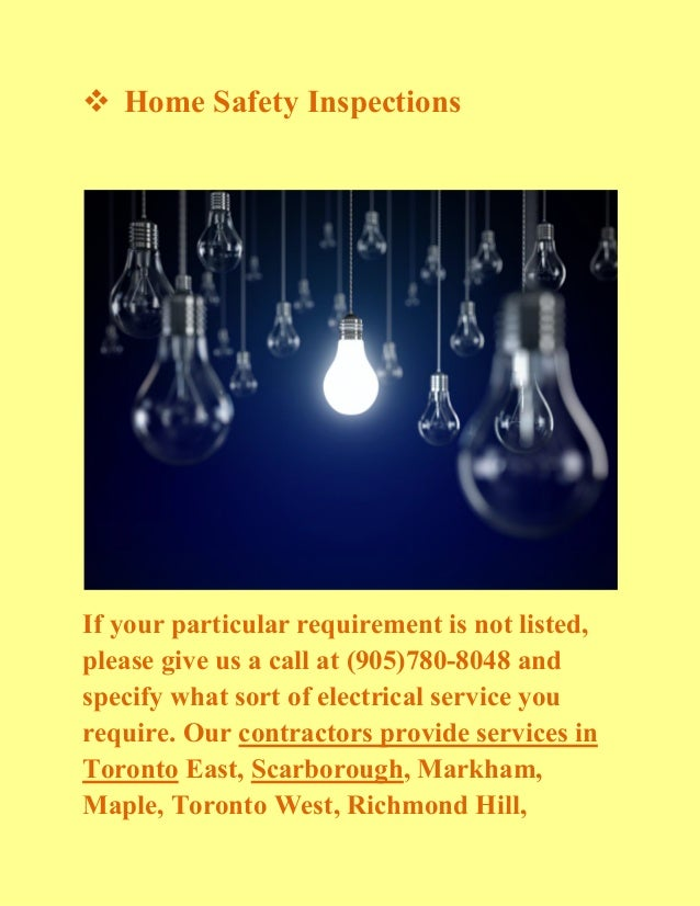 Electrical Contractors And Electricians In Newmarket