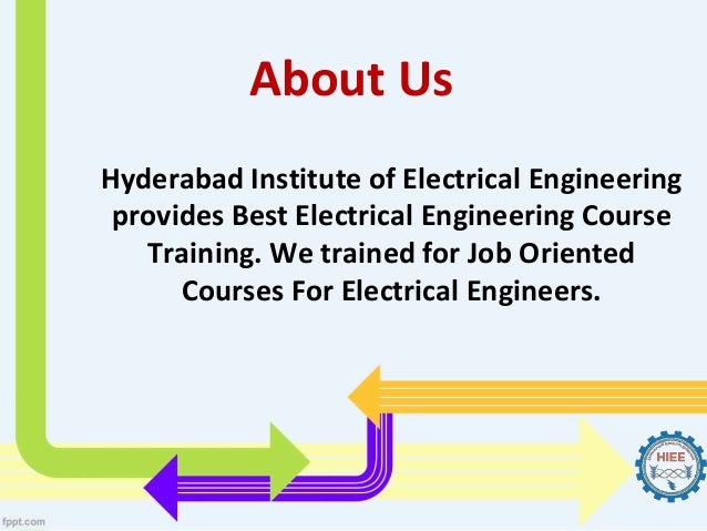 Electrical Engineering Courses In Hyderabad Best Institutes For Elec