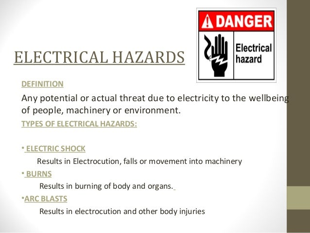 1 bismillah electrical hazards & control. 2 why should you be.
