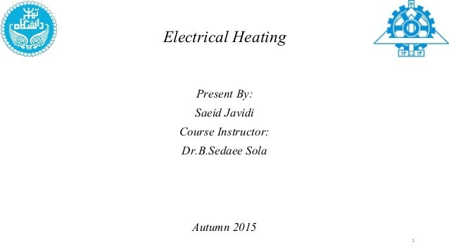 application of electrical heating in enhanced oil recovery