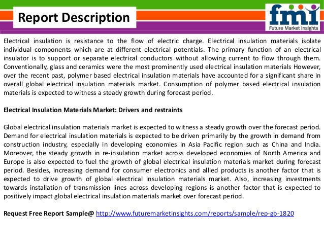 Electrical insulation materials market  Forecast and Segments, 2016-2026 Slide 2