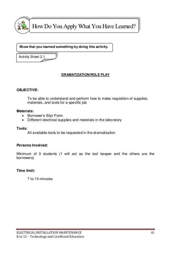 k to 12 electrical learning module rh slideshare net