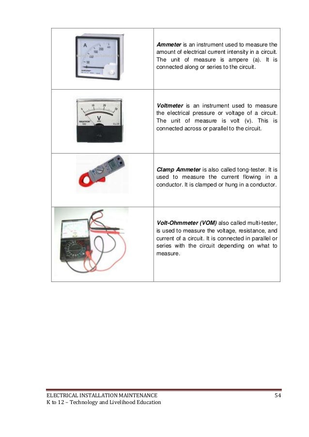k to 12 electrical learning module pdf