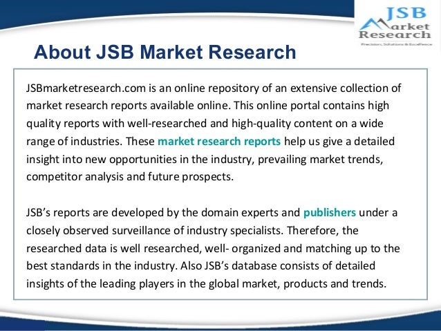 jsb market research ott video Jsb market research is the best market research company who provides more  than 50000 high quality market research reports based on specific industry and.