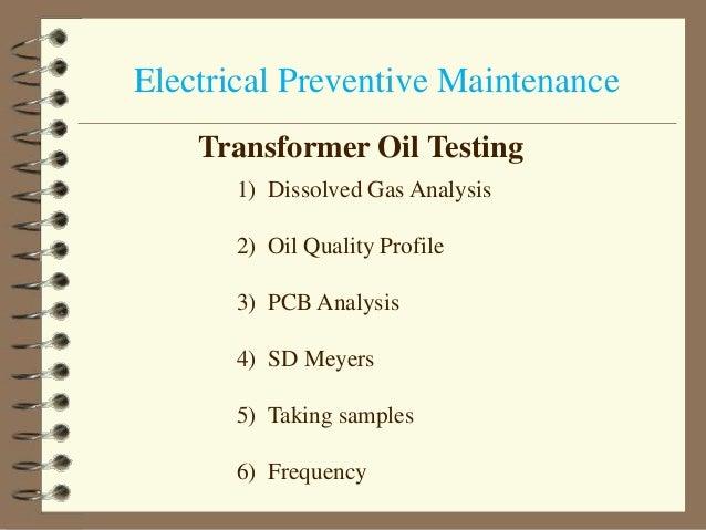 Electrical Maintenance 1