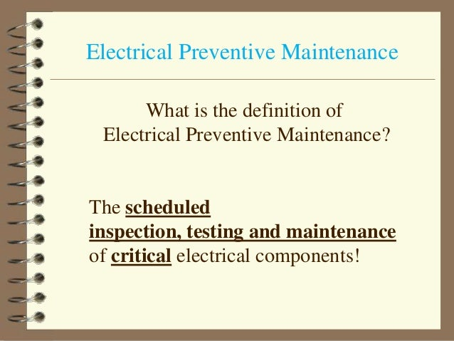 Electrical maintenance-1