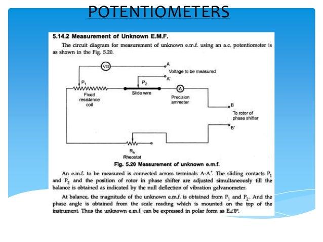 on ac potentiometer wiring schematic