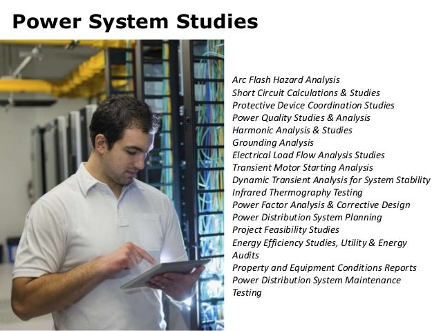 Electrical power engineering services for Motor circuit analysis training