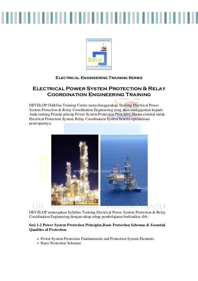 Electrical Power Protection And Relay Coordination Training
