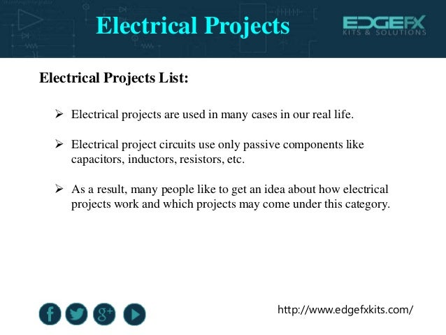 Electrical Projects