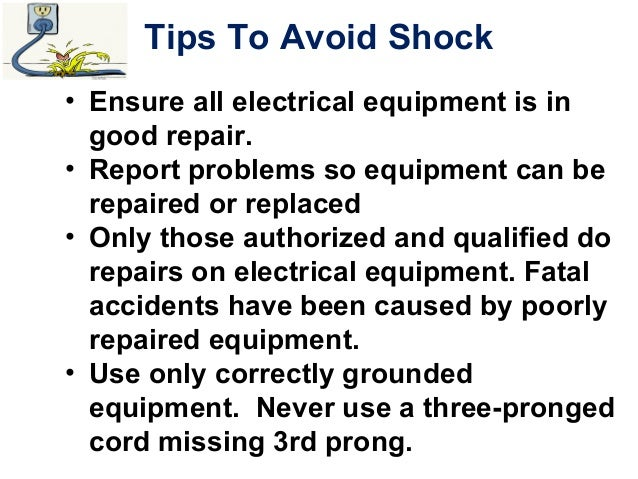 Electrical Safety (affected employees)