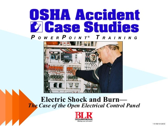 Electrical safety control panel on