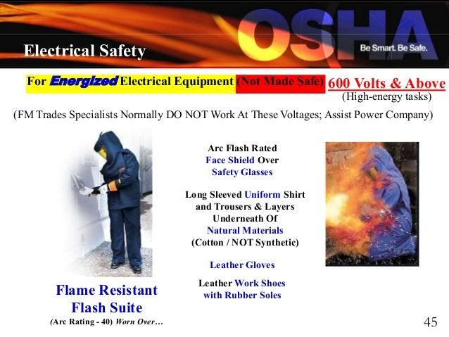 Electrical Safety By Osha