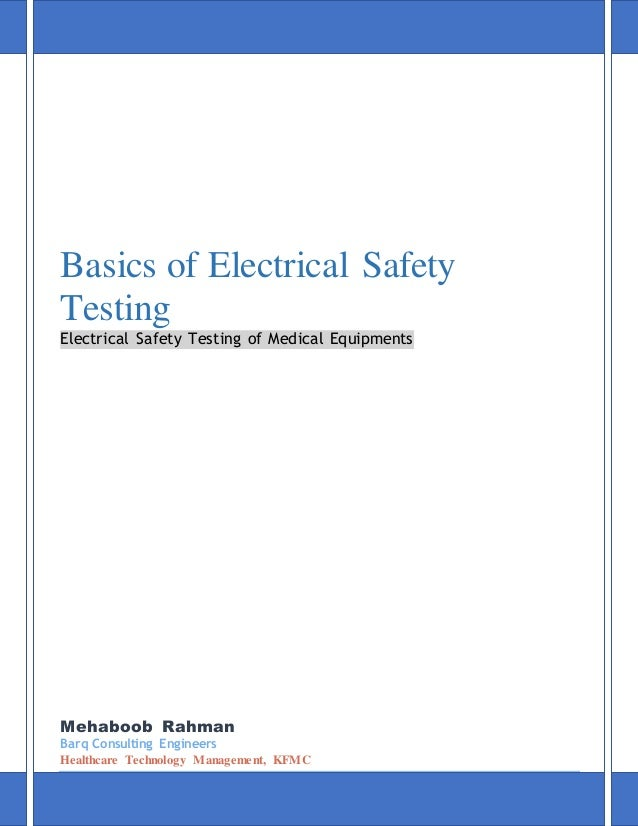 basic electrical safety training pdf