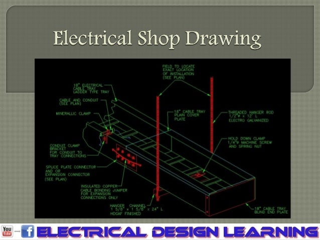 Electrical shop drawing