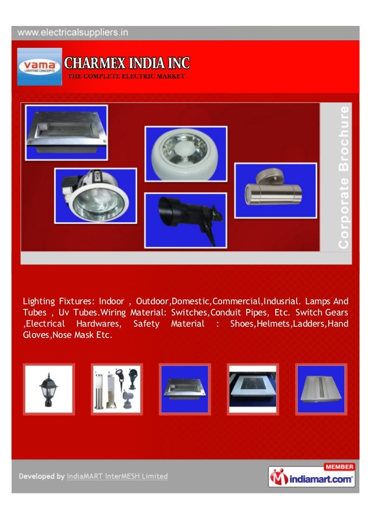 charmex india inc   mumbai  electrical products