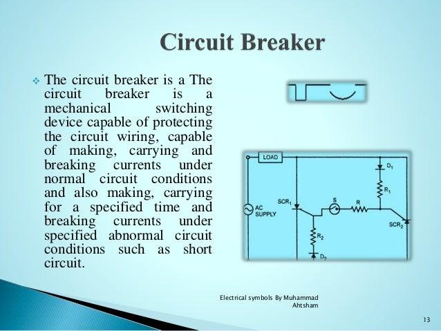 Circuit Breaker Symbol Powerpoint Data Wiring Diagrams