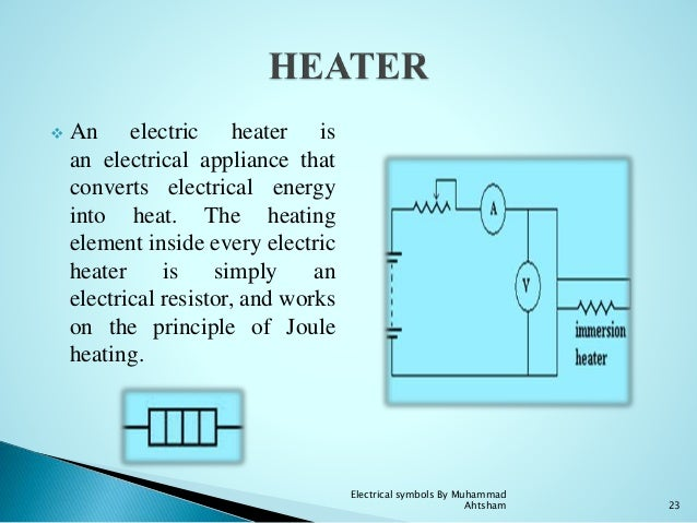 Electric Heater Schematic Symbol Trusted Wiring Diagram