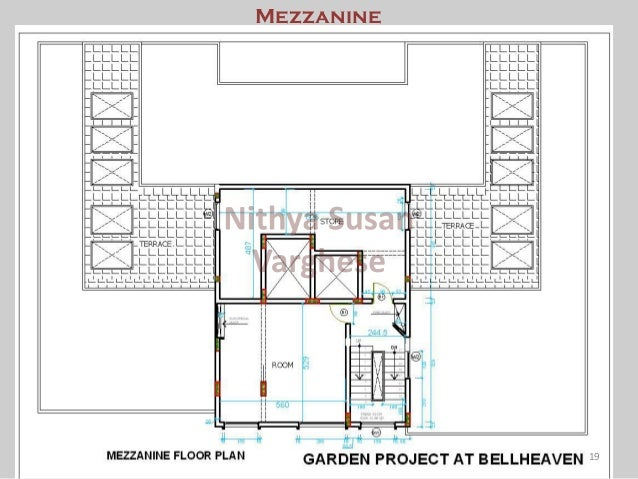Electrical system design of garden project at belhaven (10