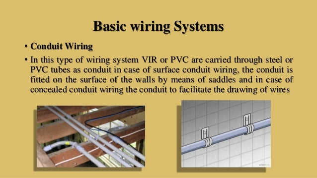 electrical systems in a buildingc t s \u0026 t r s or pvc wire; 35 basic wiring systems
