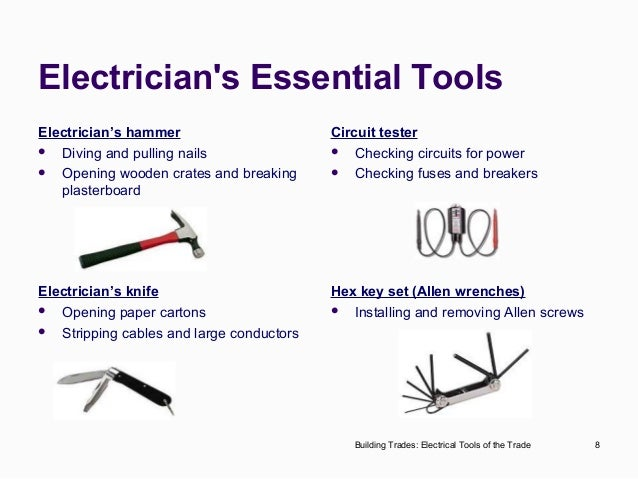 electrical tools rh slideshare net Building Security Diagram Residential Electrical Wiring Diagrams