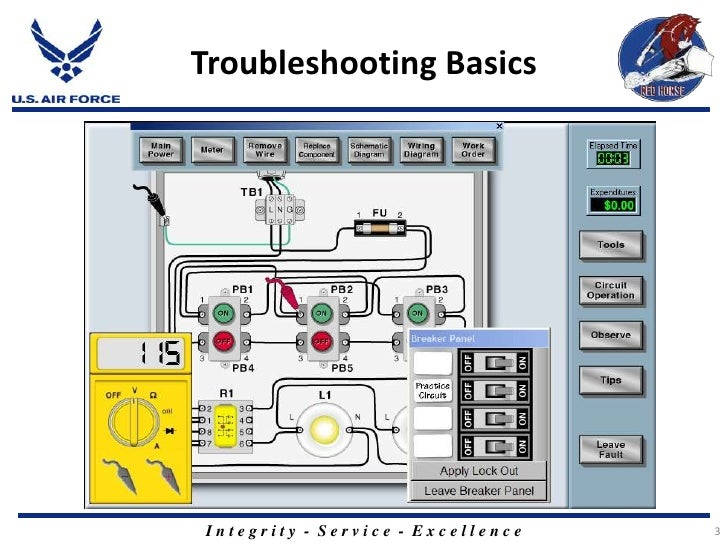 Maintenance Troubleshooting Relay Control Circuits