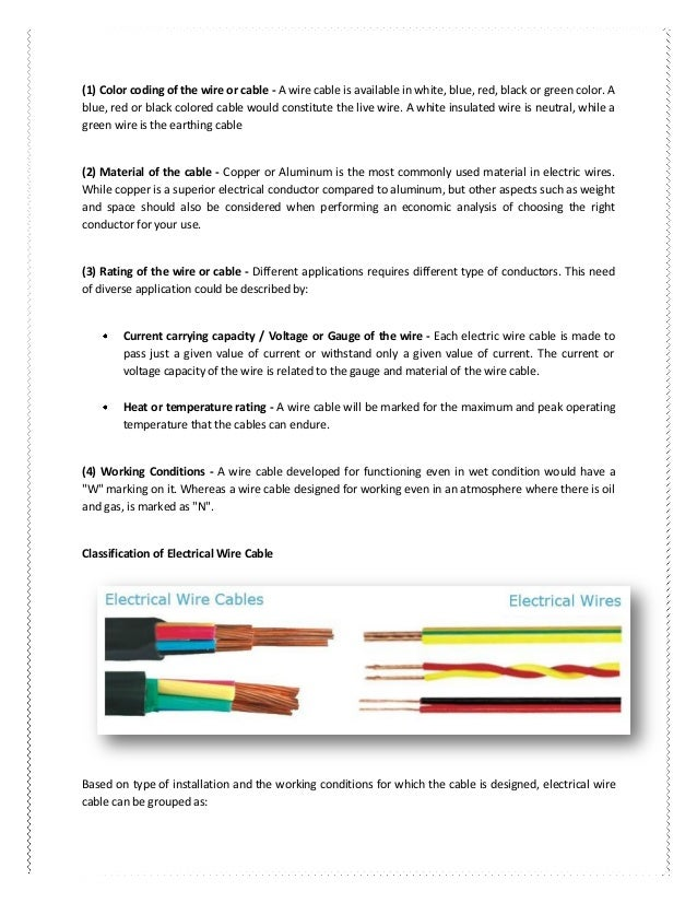 Electrical wires & cables understand their world to make better sou…