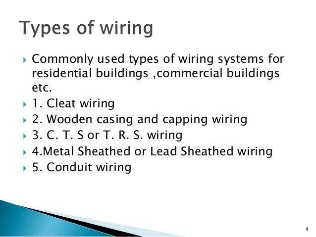 types of house wiring slideshare diy enthusiasts wiring diagrams u2022 rh okdrywall co