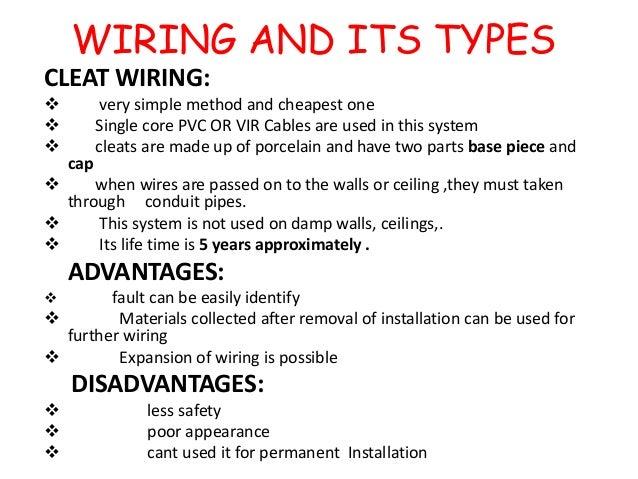 WIRING ...  sc 1 st  SlideShare : types of wiring installation - yogabreezes.com